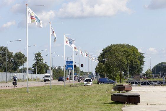 Conische vlaggenmasten