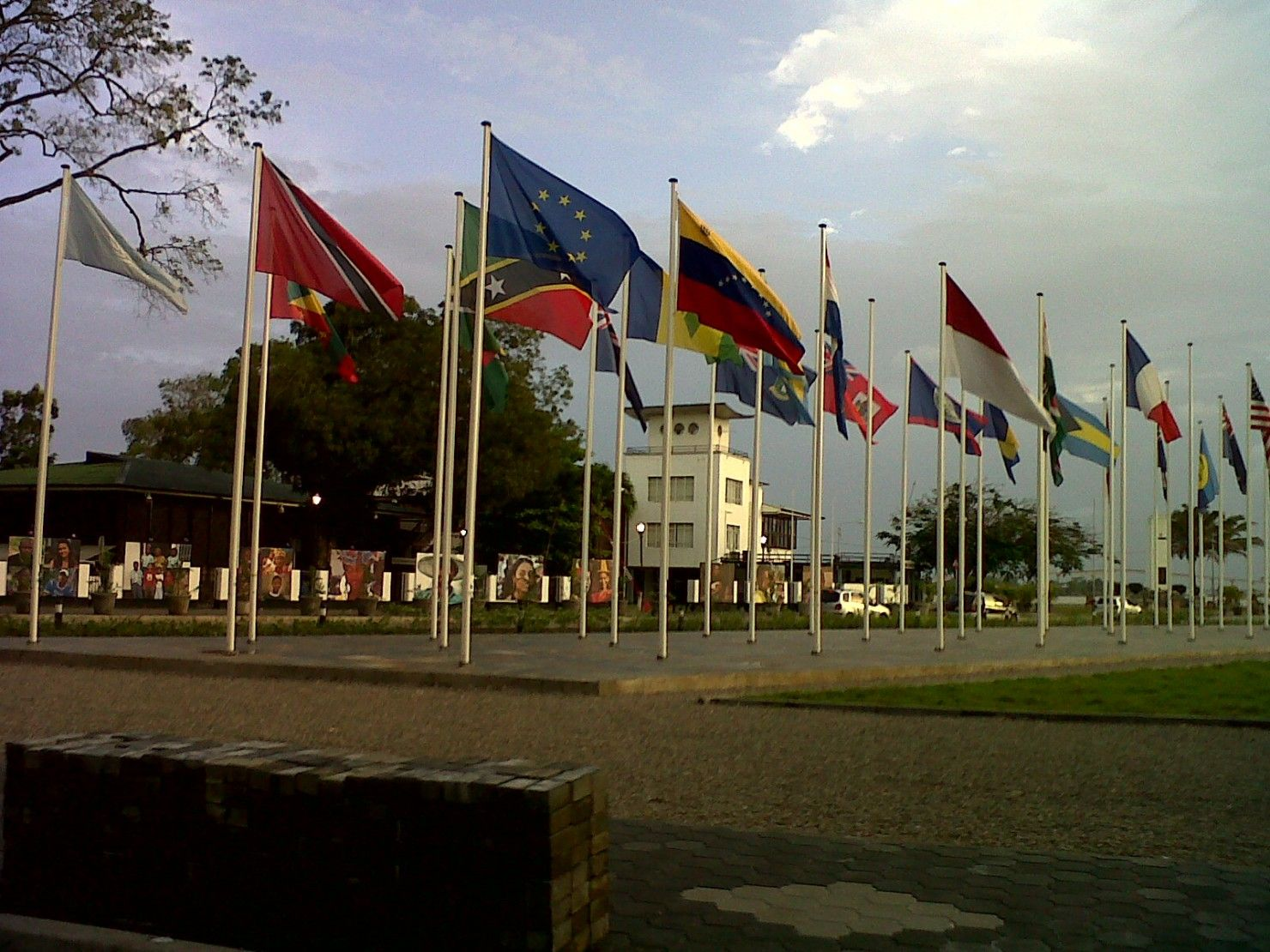 Vlaggenmast-voor-vlaggen