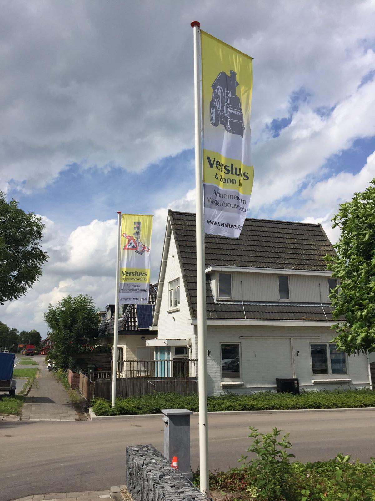 Vlaggenmasten Versluys Groep
