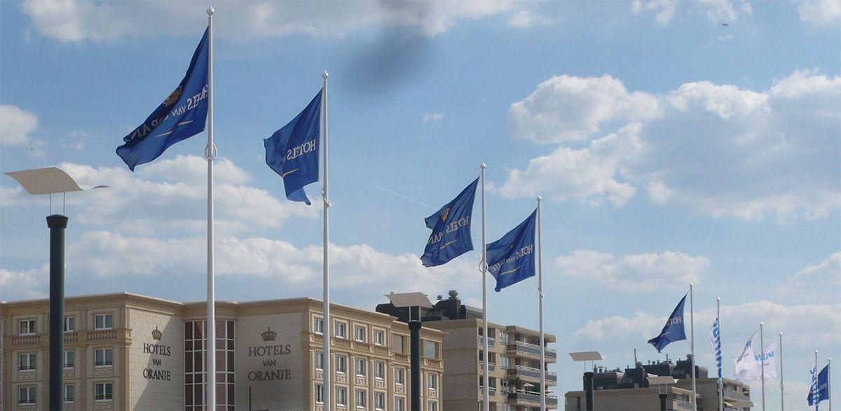 Antidiefstal vlaggenmasten