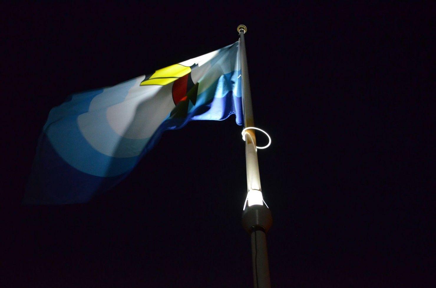 Productdetail pagina verlichte vlaggenmast
