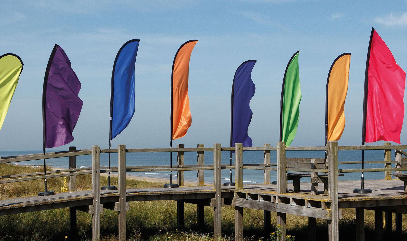 Beachflags - Limeta