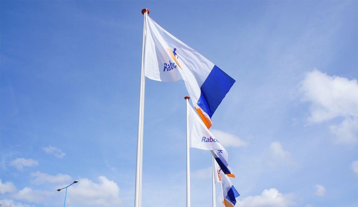 Vlaggen Rabobank